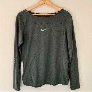 Nike Long Sleeve Aeroreact Running Shirt